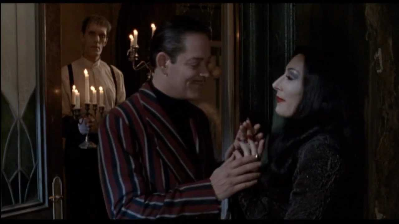 Gomez and Morticia Addams - The Night Is Young - YouTube