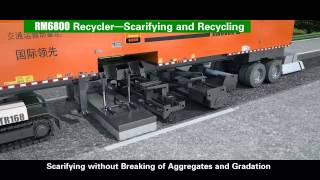 Freetech Hot-In-Place Remixing Recycling (3D animation)
