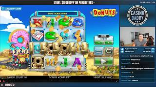 BIG WIN!!! Donuts BIG WIN - Casino Games - free spins (Online slots)