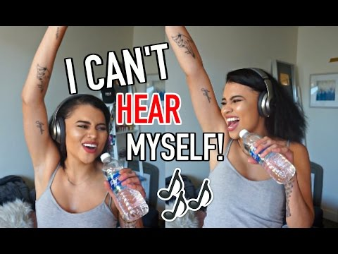 Thumbnail: SINGING WITH NOISE CANCELLING HEADPHONES! (SO EMBARRASSING)