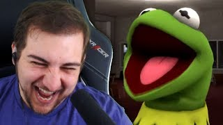 THIS IS MY TYPE OF KERMIT!! | Kaggy Reacts to Kermit Robs a Bank & Kermit Infinity War Part 2