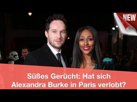 Süßes Gerücht: Hat sich Alexandra Burke in Paris verlobt?   CELEBRITIES und GOSSIP