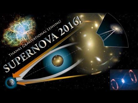 The SuperNova of 2016 & Gravitational Lensing fun