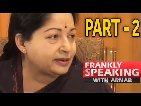Frankly Speaking with J Jayalalithaa-2