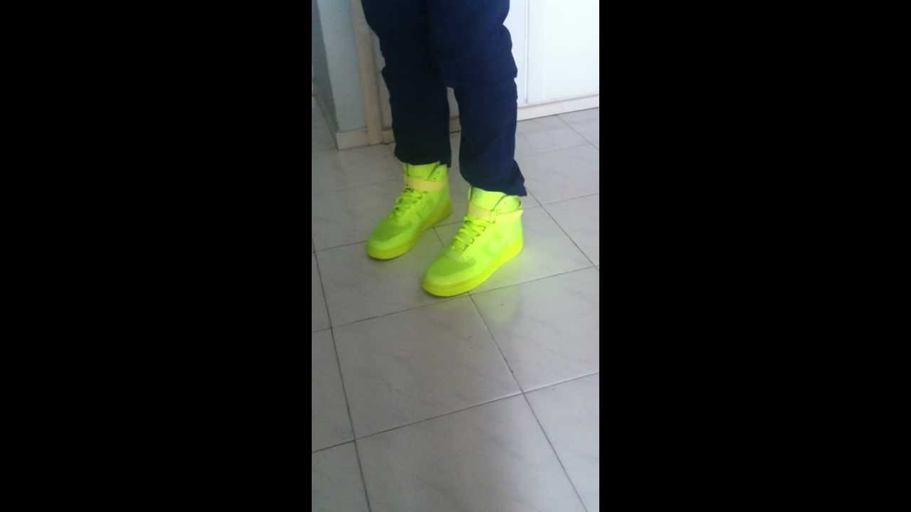 Nike Air Force 1 High Hyperfuse Premium YouTube
