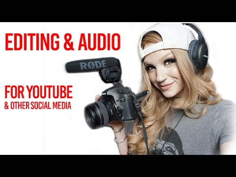 WHAT TO USE FOR EDITING & AUDIO - getting started on YouTube series