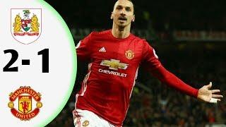 Manchester united vs Bristol city (1-2) - Highlights & Goals 21 Desember 2017  HD