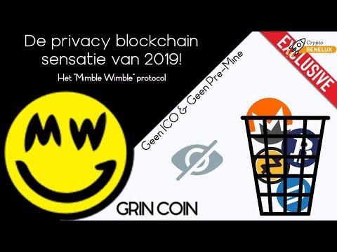 De Privacy Blockchain Sensatie van 2019!   De aankondiging [Deel 1]