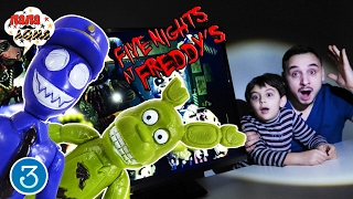 Папа Роб и Ярик играют в FIVE NIGHTS AT FREDDYS 3