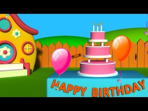 Happy Birthday Songs For Children | Happy Birthday To You | Kids Tv Nursery Rhymes