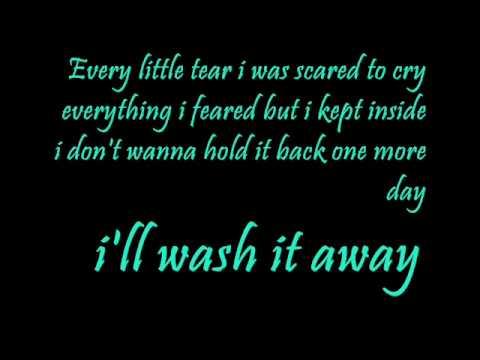 Let it rain - Jordin Sparks LYRICS.