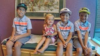 SURPRISING KIDS WITH FLU SHOTS - MIXED REACTIONS 😱