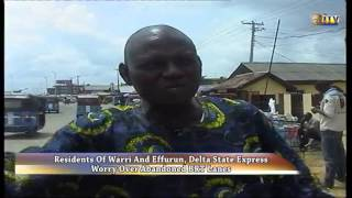 Warri residents express worry over abandoned BRT lanes