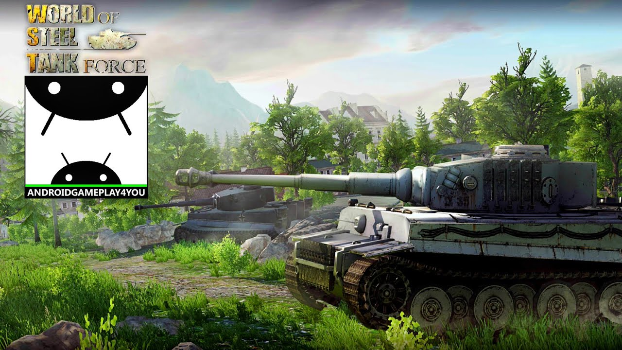 world of steel: tank force android gameplay trailer [1080p/ultra