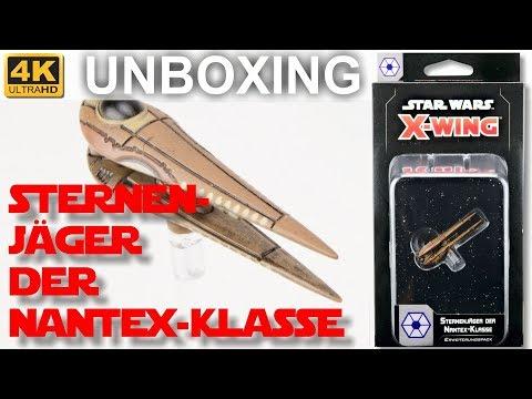 Star Wars X-Wing 2. Edition: Sternenjäger Der Nantex-Klasse - WELLE 5 - Unboxing (4K)