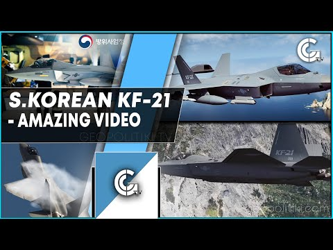 Amazing video of the stealth KF-21 of South Korea | GEOPOLITIKI TV