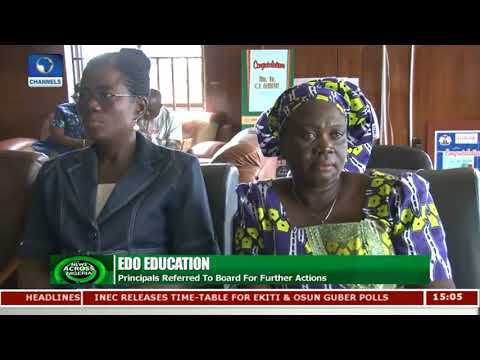 4 Principals Suspended For Illegal Fees Collection In Edo