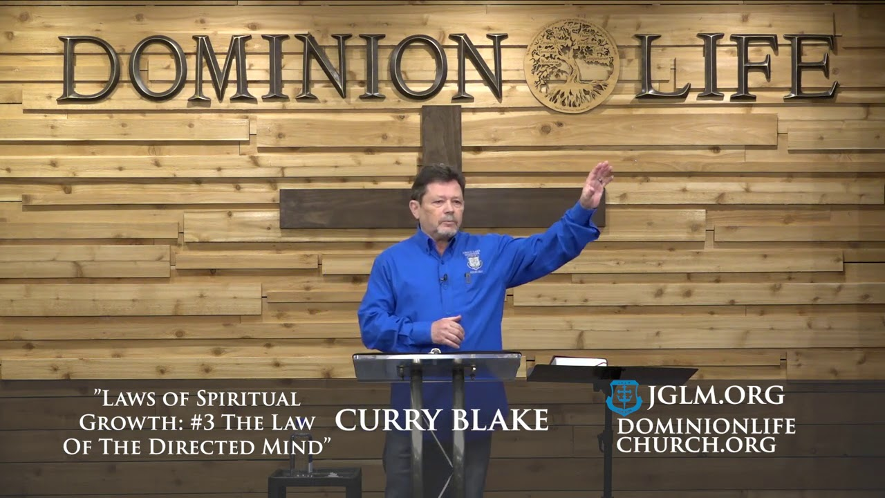 LAWS OF SPIRITUAL GROWTH: #3 THE LAW OF THE DIRECTED MIND