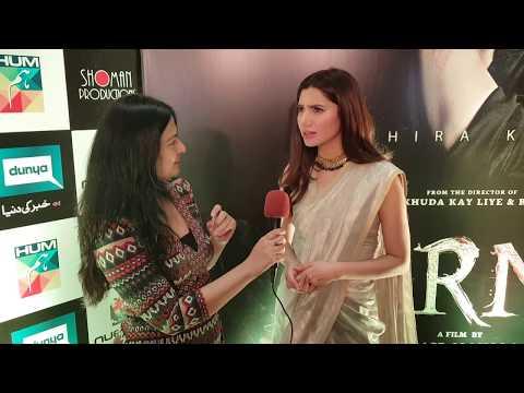 Mahira Khan hopes she has done a decent job in #Verna