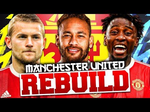 REBUILDING MANCHESTER UNITED!!! FIFA 22 Career Mode