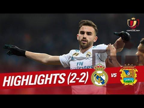 Resumen de Real Madrid vs CF Fuenlabrada (2-2)