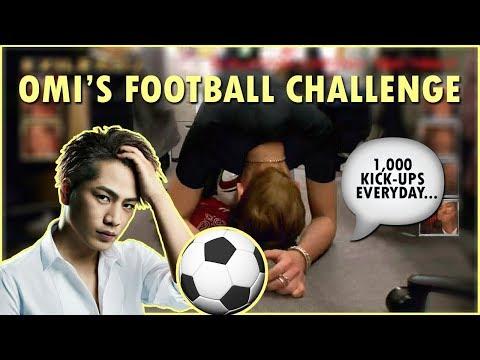 [ENG SUB] Sandaime J Soul Brothers' Hiroomi Tosaka does a football challenge