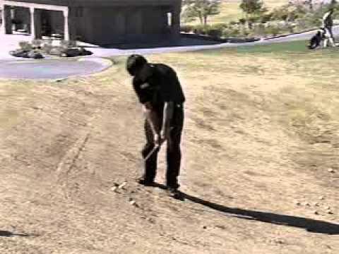 Golf Lessons: Downhill Slope  Chris Eastman Revere Golf Club Las Vegas