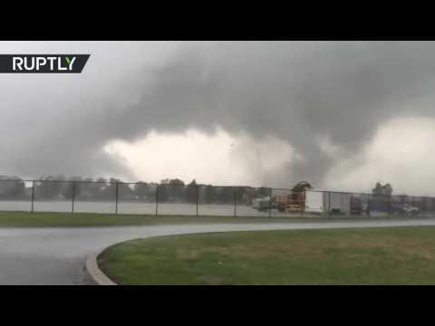 Tornado rips through Kokomo, Indiana