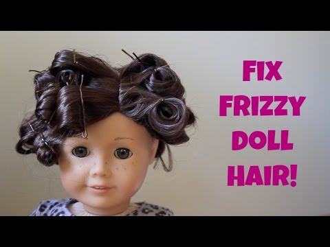 Easy Curls For Your AG Doll!