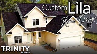 Custom Lila Home Design from Trinity Home Builders
