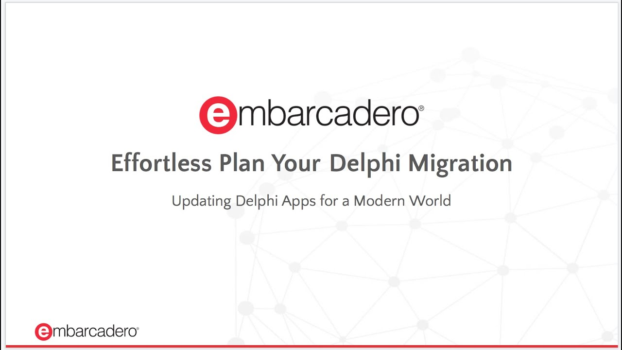 Migration and Upgrade Center - Embarcadero Website