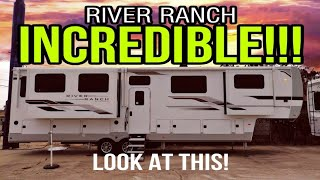 ALL NEW RIVER RANCH from Columbus RV! 390RL