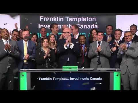 franklin-templeton-investments-canada-opens-toronto-stock-exchange,-may-14,-2018