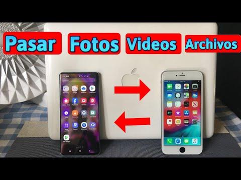 ✅ Como Pasar | Fotos-Contactos-Videos-Archivo | De IPhone A Android & De Android A IPhone Facil 2020