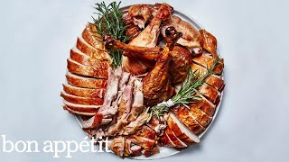 How To Carve A Turkey...Not at the Dining Table | Bon Appétit