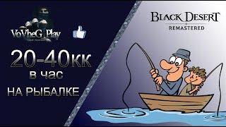 Black Desert online.Буст Риболовлі!Заробіток 20-40кк в годину!!!