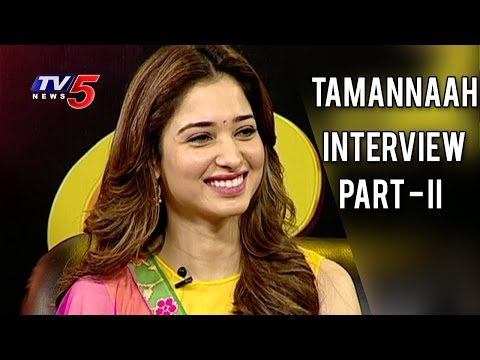 Tamannaah Exclusive Interview | Life is Beautiful | Part - 2 | TV5 News