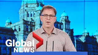 Mandatory vaccines for health-care workers expected at BC press conference Thursday | LIVE | NewsBurrow thumbnail