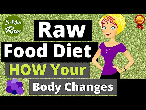 Raw food Diet (How Your Body Changes)
