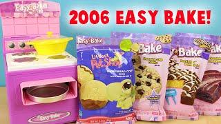 Easy Bake Oven 2006 With BONUS Mixes! Littlest Pet Shop Cookies, Brownies, Cake