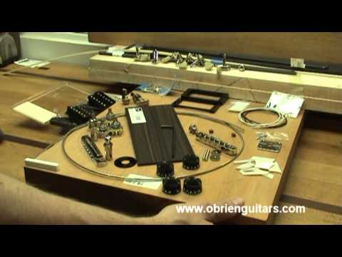 online electric guitar building course materials youtube. Black Bedroom Furniture Sets. Home Design Ideas