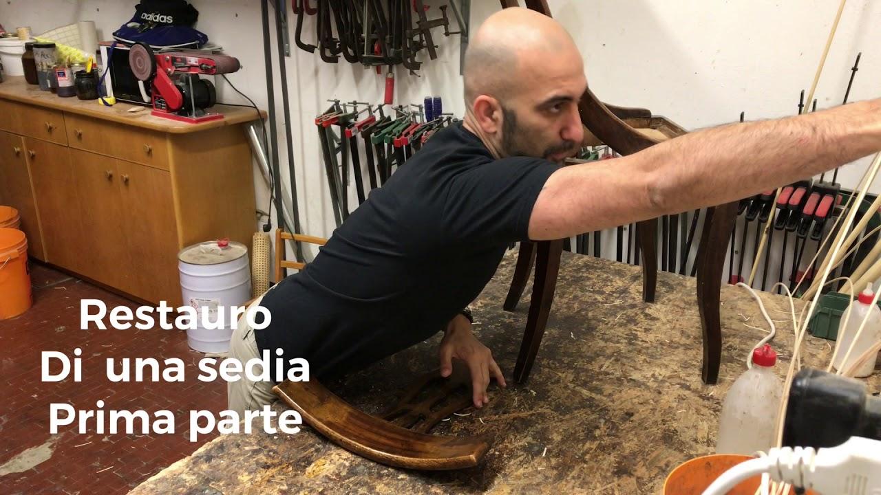 Artigiano Della Sedia Bologna restauro di una sedia prima parte - youtube