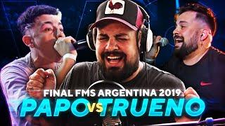 LA REACCIÓN MÁS ESPERADA: PAPO vs TRUENO en FMS Argentina 2019
