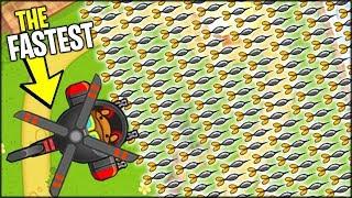 THE *NEW* FASTEST MONKEY EVER!! x10 TIER HELI MONKEY | Bloons TD Battles Hack/Mod (BTD Battles)