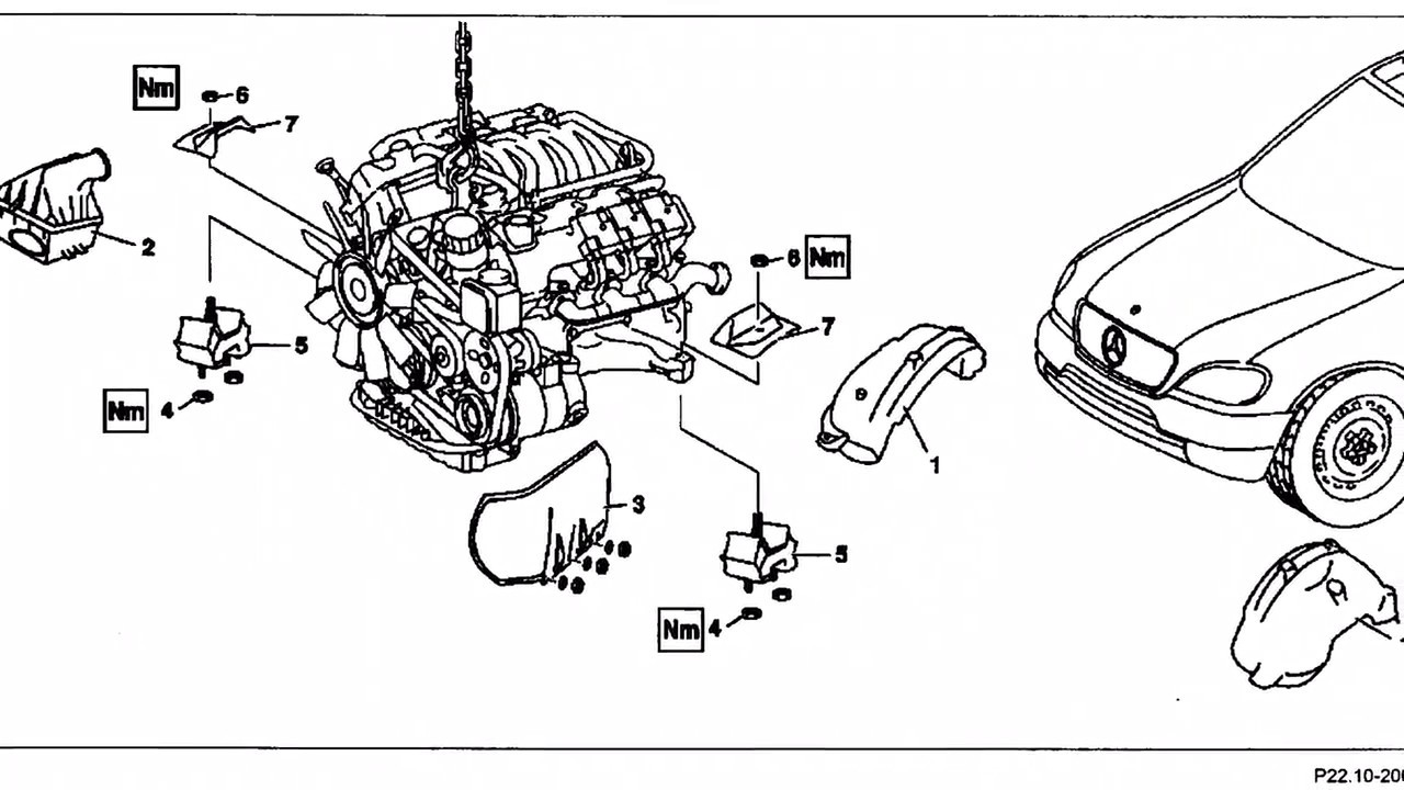 2000 Mercedes Benz Ml320 Motor Mounts How To Know If They