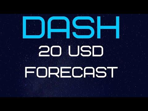 DASH : 20 USD FORECAST