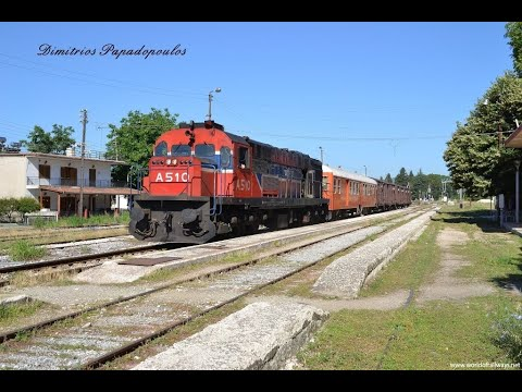 Freight trains at Central Macedonia