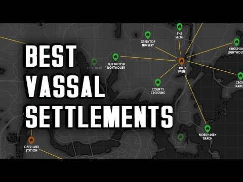 The Best Vassal Settlements to Choose - Nuka World Raider Strategy for Fallout 4