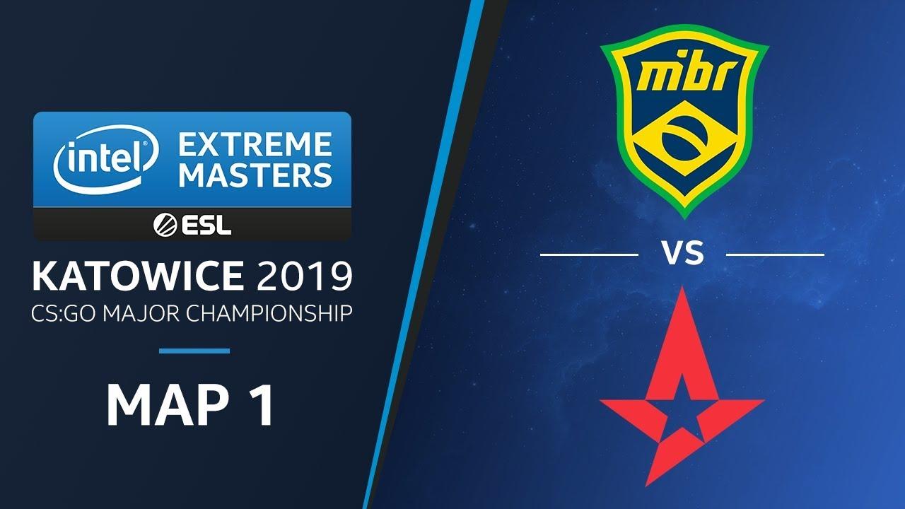 CS:GO - MIBR vs. Astralis [Overpass] Map1 - Semifinals - Champions Stage - IEM Katowice 2019