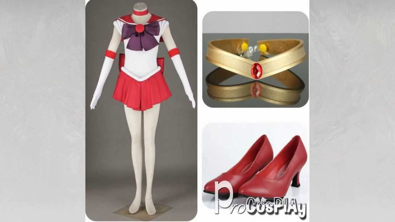 (ProCosplay)Sailor Moon Sailor Mars Hino Rei Cosplay Costume & ProCosplay)Sailor Moon Sailor Mars Hino Rei Cosplay Costume - YouTube